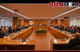 Başkan Yeşil, Başkanlar Kurulu toplantısında