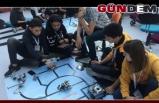 Eğitim robotları yarışmasında Devrek ikinci oldu