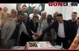 Madenciler üretimin artmasını pastayla kutladı