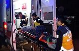 Otomobil ile elektrikli bisiklet çarpıştı: 3 yaralı