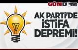 AK Parti'de istifa depremi!