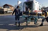 Minibüs ile elektrikli bisiklet çarpıştı: 1 yaralı
