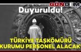 Türkiye Taşkömürü Kurumu personel alacak!