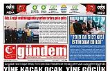 01 ŞUBAT 2020 CUMARTESİ GÜNDEM GAZETESİ