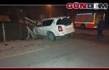2 araç çarpıştı: 1 yaralı