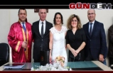 Gazeteci Uzunbaş'tan sürpriz evlilik...