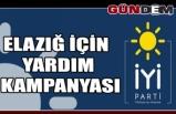 İYİ Parti'den Elazığ için yardım kampanyası