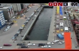 ZONGULDAK' TA YOLLAR RENKLENDİ