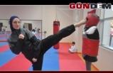 Zonguldaklı sporcu milli formayı hedefliyor