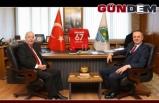 Akdemir'den Başkan Alan'a ziyaret