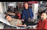 CHP'LİLER KAN VERDİ...