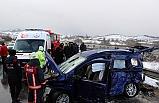 Feci kaza: 2'si ağır 4 yaralı