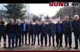 MHP HEYETİNDEN ÇATES'E ZİYARET