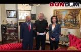 Rektörden Köksal Toptan'a ziyaret