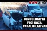 Zonguldak'ta Feci kaza, Yaralılılar var