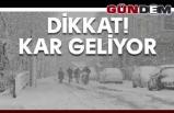 Zonguldak Valiliği'nden yağış, soğuk hava ve kar uyarısı