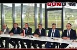 Zonguldaklı heyet Samsun'da