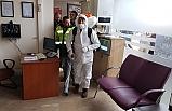 Devrek Belediyesi dezenfekte çalışmalarına devam ediyor...