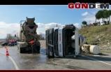 Filyos yolunda kaza, 2 yaralı
