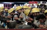 Maden işçilerine koronavirüs önlemleri...