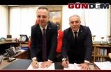 Zonguldak Belediyesinde sözleşme imzalandı