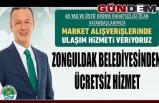Zonguldak Belediyesinden ücretsiz hizmet