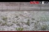 Zonguldak'ın yüksek kesimlerinde kar yağışı