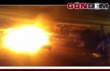 Zonguldak'ta pazar yerinde yangın!..