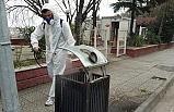 Zonguldak'ta dezenfekte çalışmaları başladı...