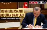 Atama kararları Resmi Gazete'de...