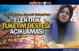 Bakan Selçuk'tan 'Elektrik Tüketim Desteği' açıklaması