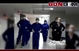 Corona virüsü yendi, 'penguen dansıyla' taburcu oldu
