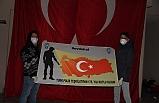 'Evde kal, Türk Polis Teşkilatının 175.Yılı Kutlu Olsun'