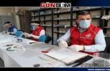Gençlik Merkezi 5 bin 900 siper maske dağıttı