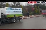 Gülüç Belediyesi Ormanlı'ya temizlik yardımı yaptı