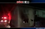 Korkutan ev yangını...