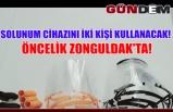 Solunum cihazını iki kişi kullanacak! Öncelik Zonguldak'ta!