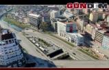 Zonguldak sokakları havadan görüntülendi...