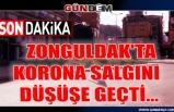 Zonguldak'ta Korona salgını düşüşe geçti...