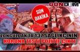 Zonguldak'ta 137 Sağlıkçının Korona testi pozitif çıktı