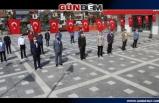 19 Mayıs kutlamaları Devrek'te sade bir törenle kutlandı