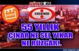 55 YILLIK ÇINAR NE SEL YIKAR NE RÜZGÂR!.