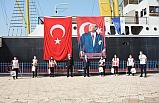 ALEMDAR GEMİSİ'NDE VOLEYBOL GÖSTERİSİ