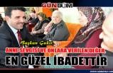 Başkan Çakır, Anneler Günü'nü kutladı...