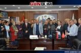 Başkan Demirtaş çalışanları bayram öncesi mutlu etti