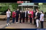 CHP'li kadınlar hemşireleri ziyaret etti