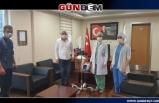 Ereğli Devlet Hastanesi'ne solunum cihazı bağışı