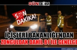 İçişleri Bakanlığı'ndan Zonguldak dahil 81 ile genelge...