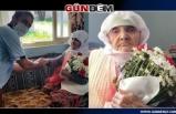 Muhtar, 101 yaşında Anneyi çok duygulandırdı