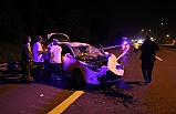 Otomobil TIR'a çarptı! Bir ölü, dört yaralı